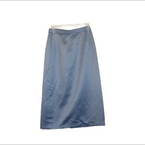 Alfred Angelo Light Blue Shiny Skirt